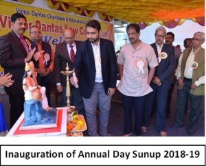 Inauguration of Annual Day Sunup 2018-19