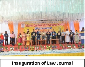 Inauguration of Law Journal