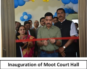 Inauguration of Moot Court Hall