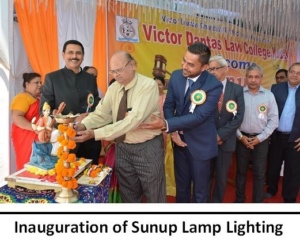 Inauguration of Sunup Lamp Lighting