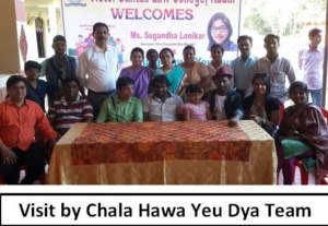 Visit by Chala Hawa Yeu Dya Team