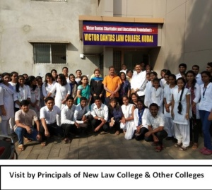 Visit by Principals of New Law College & Other Colleges