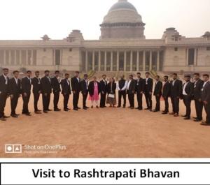 visit to Rashtrapati Bhavan